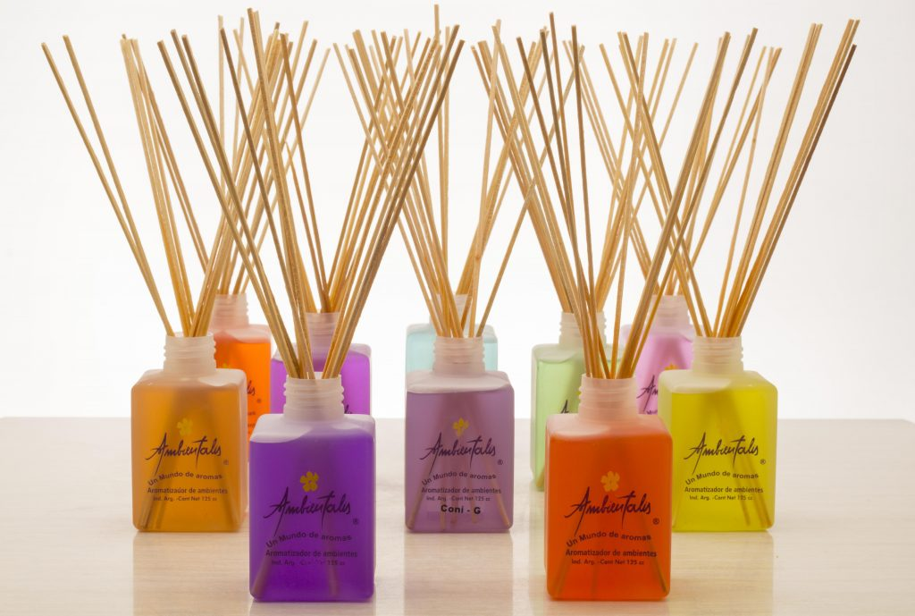difusor con varillas de bambu 125ml