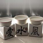 Hornillos con Simbologia del Taoismo